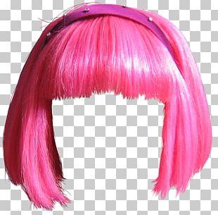 Stephanie LazyTown Wig PNG