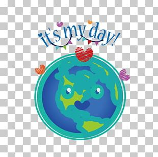 Earth Day Illustration PNG
