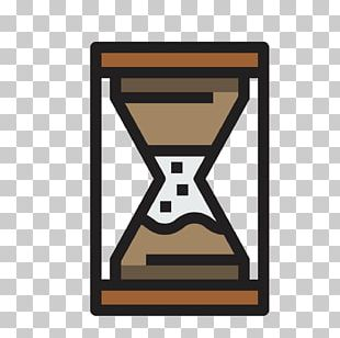 Hourglass Scalable Graphics Clock Icon PNG
