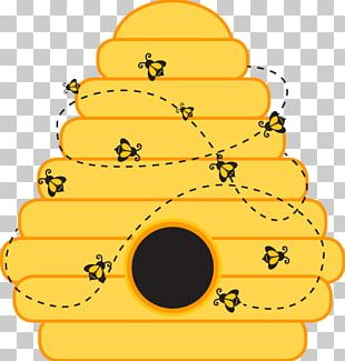 Beehive Bumblebee Template PNG