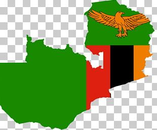 Flag Of Zambia Map Wusakile PNG