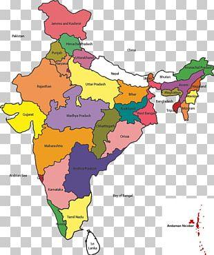 India Mapa Polityczna World Map Globe PNG