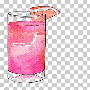 Cocktail Grapefruit Juice Drink Drawing Illustration PNG