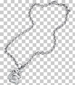 Locket Necklace Silver Body Jewellery PNG