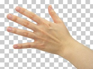 Thumb Nail Hand Model Manicure PNG
