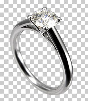 Wedding Ring Solitaire Engagement Ring Jewellery PNG