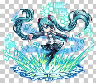 Brave Frontier Hatsune Miku Kagamine Rin/Len Vocaloid Crypton Future Media PNG