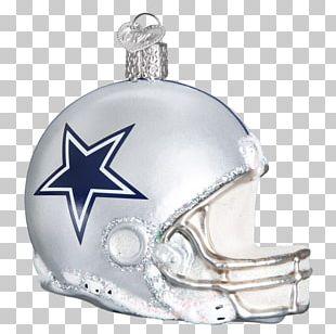 Dallas Cowboys NFL Green Bay Packers American Football Helmets Christmas Ornament PNG