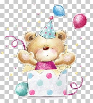 Teddy Bear Greeting Card Stock Photography Birthday PNG
