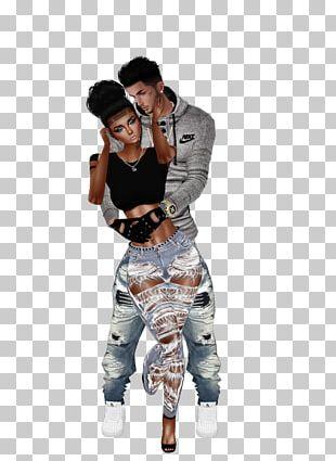 Jeans T-shirt Shoulder Hip-hop Dance Outerwear PNG