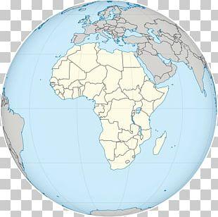 Globe Earth World Rwanda Map PNG