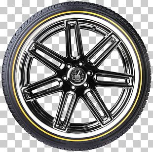 Alloy Wheel Car Radial Tire Vogue Tyre PNG