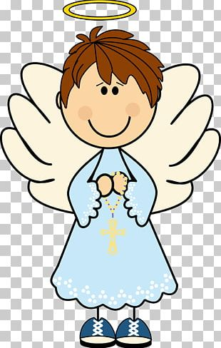 Baptism Angel Eucharist First Communion Party PNG