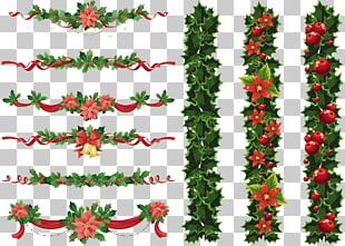 Christmas Garland Wreath PNG