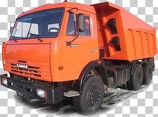 KamAZ-65115 Car Dump Truck PNG