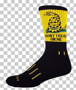 Sock American Revolutionary War United States Gadsden Flag PNG