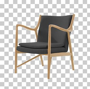Eames Lounge Chair Furniture Chaise Longue Wing Chair PNG
