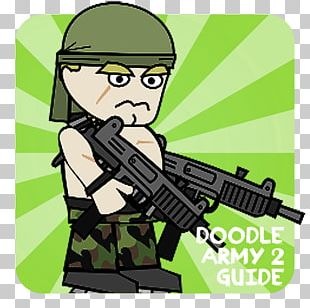 Doodle Army 2: Mini Militia Android PNG