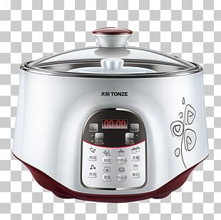 Congee Simmering Rice Cooker Stock Pot Home Appliance PNG