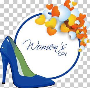 Shoe International Womens Day Woman PNG