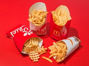 McDonald's French Fries Hamburger Fast Food Chicken Nugget PNG