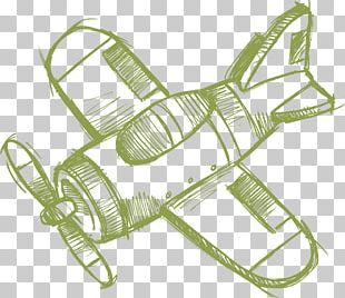 Airplane Aircraft Drawing Sketch PNG
