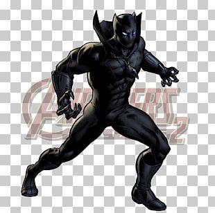 Black Panther Captain America Superhero Marvel Comics PNG