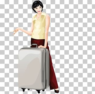 Baggage Travel Suitcase Illustration PNG