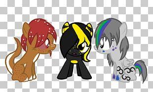 Horse Cat Dog Cartoon PNG