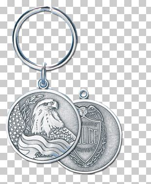 Key Chains Silver Locket Body Jewellery Police PNG