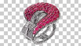 Ruby Ring Jewellery Van Cleef & Arpels Aigrette PNG