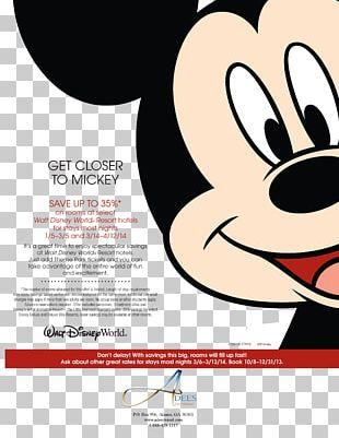 Walt Disney World Mickey Mouse The Walt Disney Company Travel Graphic Design PNG