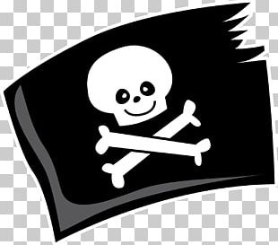 Pirate Party Jolly Roger PNG
