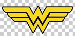 Diana Prince T-shirt Logo Iron-on DC Comics PNG