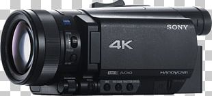 Sony FDR-AX700 4K Camcorder Handycam High-dynamic-range Imaging PNG