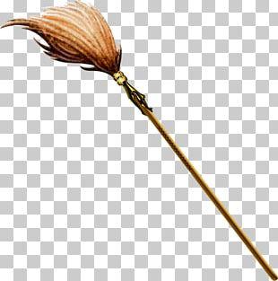 Broom Baba Yaga PNG