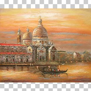 Oil Painting Canvas Art PNG