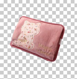 Cat Pink Coin Purse PNG