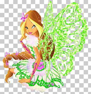 Flora Bloom Musa Fairy Winx Club PNG