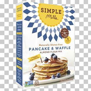 Pancake Waffle Flour Almond Meal Ingredient PNG