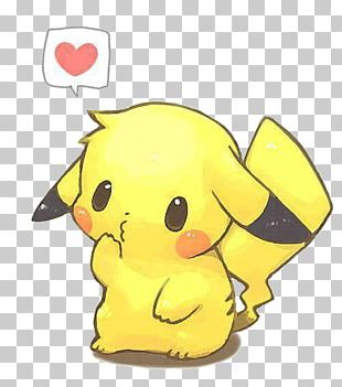 Pikachu Drawing Chibi Pokémon PNG