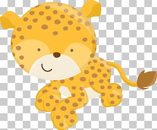 Leopard Party Safari Birthday Lion PNG