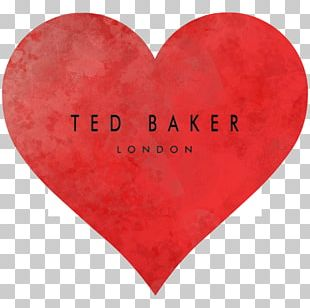Valentine's Day Ted Baker Heart PNG