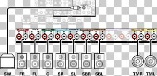 Wiring Diagram Loudspeaker Surround Sound Electrical Wires & Cable PNG