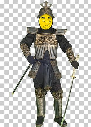 Knight Body Armor Japanese Armour Costume PNG