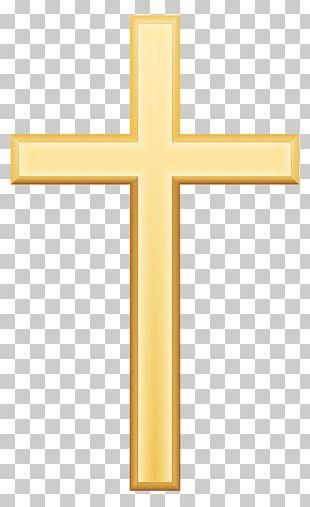 Crucifix Cross Pattern PNG