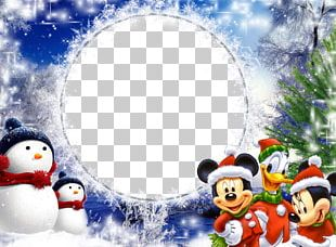 Frame Christmas New Year PNG