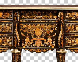 Table Writing Desk Marquetry Furniture PNG
