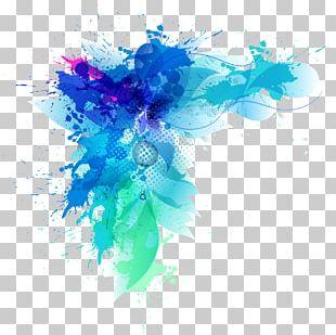Decorative Blue Gradient Health PNG