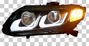 Headlamp Car 2012 Honda Civic Honda Freed PNG